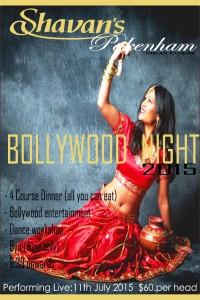 Bollywood night 2015