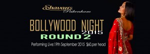 Shavans Bollywood Night 19th Sep